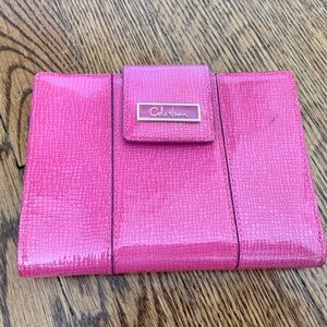 Cole Haan Hot Pink Passport Case